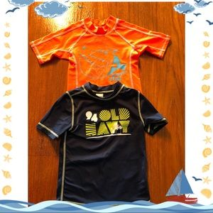 Boys swim shirt bundle.